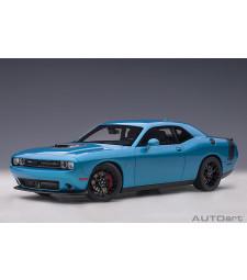 Dodge Challenger 392 2018 HEMI SCAT PACK SHAKER (B5 blue pearl coat) (composite model/full openings)