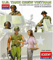 1:35 US TANK CREW VIETNAM - 5 figures