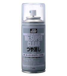 B-514 Mr. Super Clear Flat Spray (170 ml)