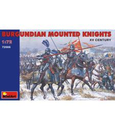 1:72 Burgundian Mounted Knights - XV century - 20 figures