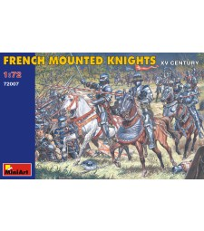1:72 French Mounted Knights - XV century - 20 figures