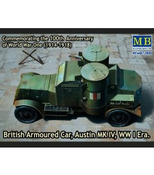 1:72 British Armoured Car, Austin, MK IV, WW I Era