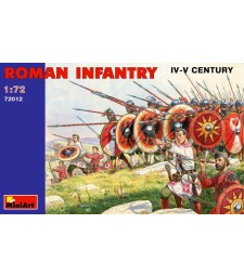 1:72 Roman Infantry . III-IVc. - 48 figures