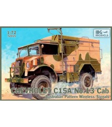 1:72 Chevrolet C15A No.13 CabAustralian Pattern Wireless/Signals