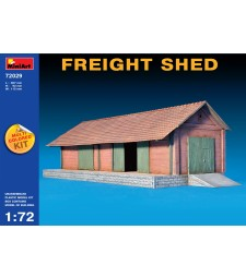1:72 Freight Shed