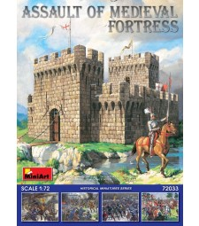 1:72 Assault of Medieval Fortress