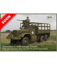 1:72 Diamond T 968 Cargo truckwith M2 machine gun (Bonus PE parts included)