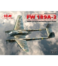 1:72 FW 189A-2. WWII German Reconnaissance Plane