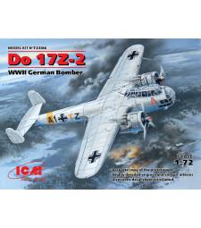 1:72 Do 17Z-2. WWII German Bomber