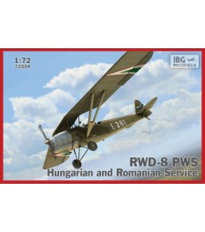1:72 RWD-8 Hungarian and Romanian service