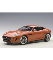 JAGUAR F-TYPE R COUPE (FIRESAND METALLIC/ORANGE) 2015 (COMPOSITE MODEL/FULL OPENINGS)
