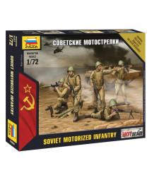 1:72 Soviet Infantry - 5 figures