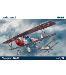 1:72 French WWI fighter Nieuport Ni-17
