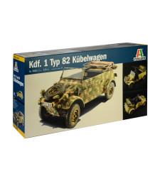 1:9 Kdf. 1 Typ 82 Kubelwagen