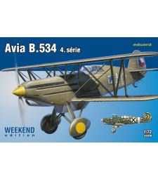1:72 Avia B.534 IV. series