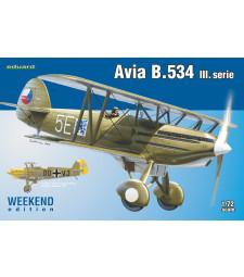 1:72 Avia B.534 III. serie
