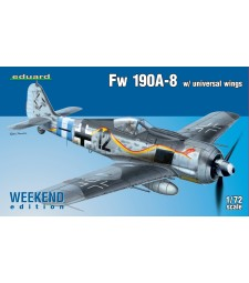1:72 Fw 190A-8 w/ universal wings