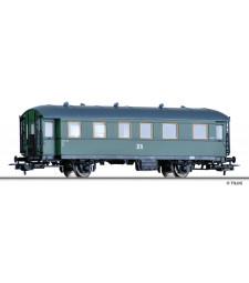Passenger coach 2nd class Bip (ex BCi 34) of the DR, epoch III