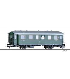Passenger coach 1st/2nd class  ABie (ex Bci 34) of the DB, epoch III