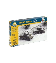 1:72 M4 A3 76mm  2x - fast-assembly