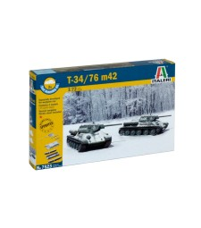 1:72 T34/76 Mod.42 - fast assembly