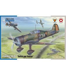 "1:48 Fokker D.21 ""Dutch and Dannish"""
