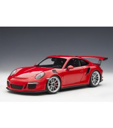 Porsche 991 GT3 RS (guards red silver wheels) (composite model/full openings)