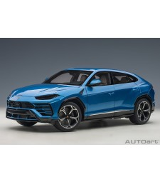 Lamborghini Urus 2018 (blu eleos/metallic blue) (composite model/full openings)