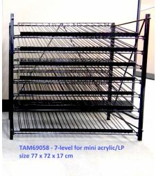 TAMIYA Mini Paints Stand: 7 levels x 15 bottles - 77x72x17