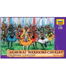 1:72 Samurai Warriors-Cavalry
