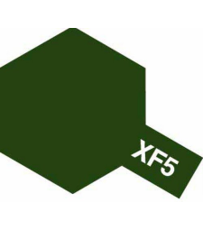 XF-5 Flat Green - Acrylic Paint (Flatt) 23 ml