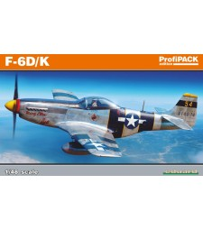 1:48 US WWII fighter aircraft P-51D/K Mustang