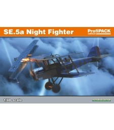 1:48 British WWII Night Fighter aircraft SE.5a
