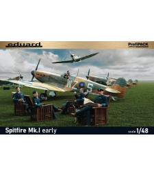 1:48 British fighter Spitfire Mk.I