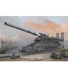 "1:72 German 80cm K(E) Railway Gun ""Dora"""