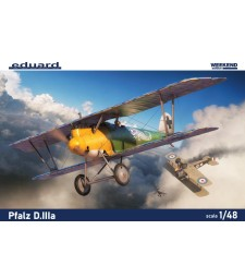 1:48 German WWI fighter plane Pfalz D.IIIa