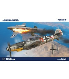 1:48 German WWII fighter plane Bf 109G-6
