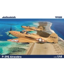 1:48 US WWII fighter plane P-39Q