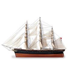 1:84 Cutty Sark Tea Clipper - Wooden Model Ship Kit