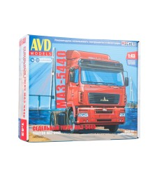 MAZ-5440 truck tractor - Die-cast Model Kit