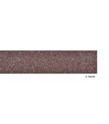 Styrostone embankment strip Dark brown 700 mm, gauge 12 mm