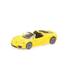 PORSCHE 918 SPYDER – 2013 – YELLOW