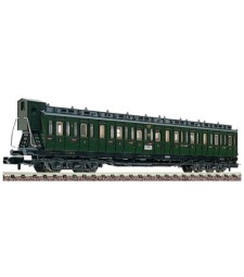 Compartment car 3rd Class type C4 pr04 German National Railway (DRG), epoch II