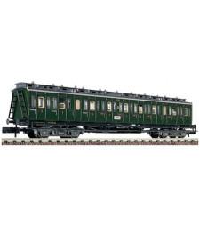 Compartment car 3rd Class type C4 trpr04 German National Railway (DRG), epoch II