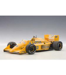 LOTUS 99T HONDA F1 JAPANESE GP 1987 SENNA #12