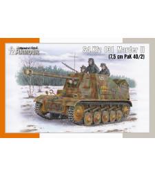 1:72 Sd.Kfz 131 Marder II (7.5 cm PaK 40/2)