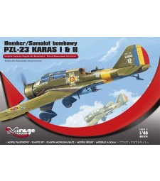 1:48 BOMBER PZL-23 KARAS I & II 'Royal Romanian Air Force