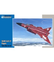 "1:48 SAAB AJS-37 Viggen ""Show must go on"""