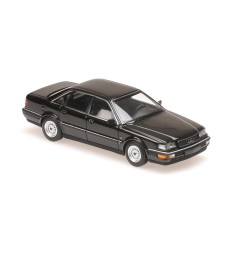 AUDI V8 - 1990 - BLACK METALLIC - MAXICHAMPS