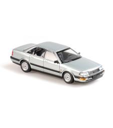 AUDI V8 - 1990 - GREY METALLIC - MAXICHAMPS